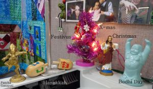 holiday conglomeration by wiccanwitchiepoo