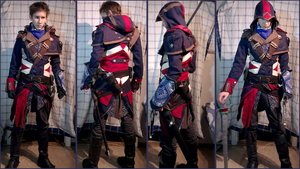 AC Unity Custom Assassin, Finished the Clothes by Pearlite