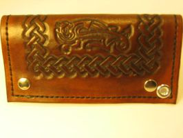 Celtic Knotwork Chain Walet by FattDaddyLeather