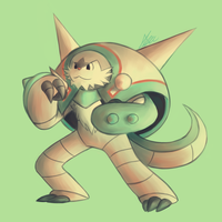 Chesnaught - Palette Challenge by Rabid-Fangirl212