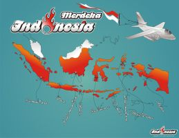 Indonesia Merdeka by ardhn