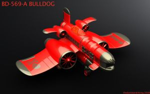 BULLDOG -shiny- RED by TDBK