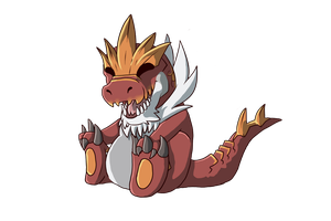 Tyrantrum by TheMunchbot