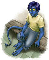 angsty nightcrawler by Kecky