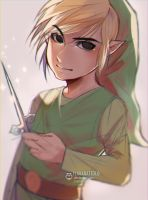 Toon Link by ilaBarattolo