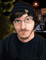 Youtuber Portraits: Markiplier by Horobinota