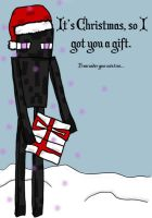 Very Merry Ender-Christmas Card by ChippewaOkami