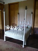 white bed by two-ladies-stocks