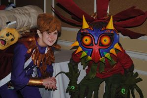 Amazing Majora's Mask Cosplay by dotgfx