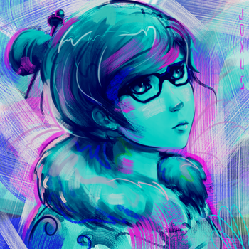 Abstract Mei by JoxusArt