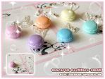Macaron Necklaces small by Fluffntuff