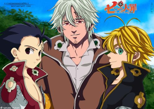 Nanatsu No Taizai: Brotherhood by IITheDarkness94II