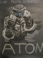 Real Steel - ATOM by Epic-Cakester