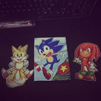 Classic Team Sonic :gift: by Mitzy-Chan