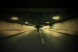 The tunnel by LaMusaTriste