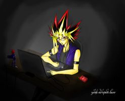 Behind The Screen by Yami-No-Spirit-luver