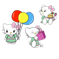 Happy Brithday Hello Kitty Images by spongefox
