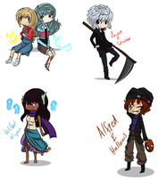 ROTG OCs by TilForeverEnds