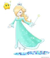Mario and  Luigi Dream Team Rosalina by Luigifan-Natsu