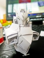 Head and body front progress by PaperBot
