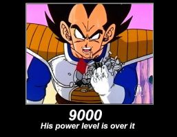 Over 9000 motivational by Serpent1212