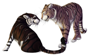[C] .:Your stripes are mine:. by ancarie-bluewolf