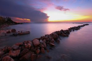 Nightcliff Jetty Sunset 3 by Bobby01