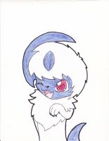 Chibi Absol by Star-Fang