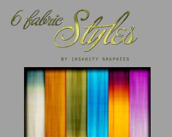 6 Fabric Styles by Insanitygraphicss