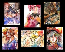 Trading Cards Set: 2 by lilbit075