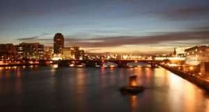 Long Exposure on the Thames 4 by megodbike