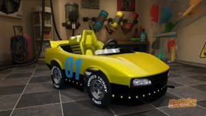 Destruction Derby Pro-01 car in Modnation Racers by smithandcompanytoons