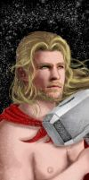 Thor bookmark advengers by Lendsei