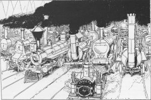 The Heavenly Land of Old Engines by SteamRailwayCompany