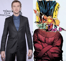 Dan Stevens as David Haller a.k.a. Legion by dyemery
