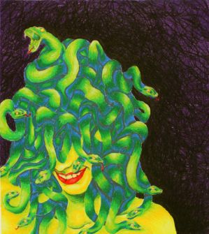 Corben As A Gorgon