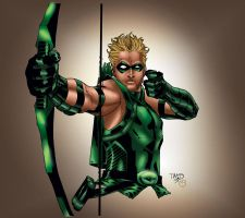 Green Arrow by MarcBourcier