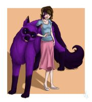 commish - zoe and robbie by kaleadora