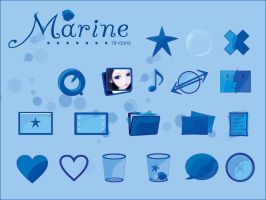 Blue Marine Icons Window XP by gwicons