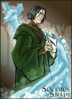 Birthday Snape - HP by lberghol