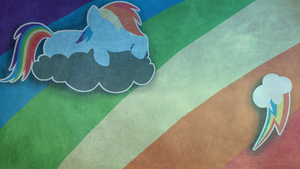 Rainbow Dash Wallpaper by Mythical-Pixel