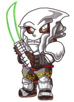 Pocket Fighter - Yoshimitsu by fastg35