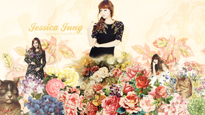 131206 Jessica Wallpaper - My first Wallpaper by myesowon