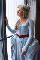 Marie Antoinette at the Window by BenaeQuee