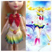 Custom Super Sailor Moon Manga Fuku for MH and EAH by djvanisher