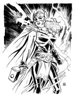 Jane Foster as Thor by deankotz