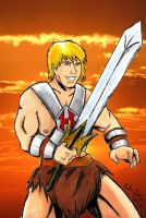 HE-MAN!!!!!!!!!!! by WibbitGuy