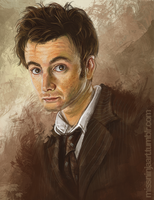 David Tennant by RebeccaFrank