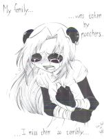 Emo Panda Cry by Ya-chan777