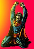 Superman (color) by Rayluaza